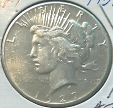 "1927-P ""VAM""  ** PEACE DOLLAR ** L@@K AT PICTURES!!!!! #1931"