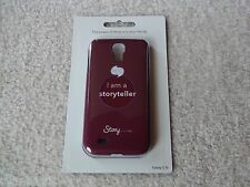 DISNEY I AM A STORYTELLER SAMSUNG GALAXY S4 ANDROID SLIM CELL PHONE CASE
