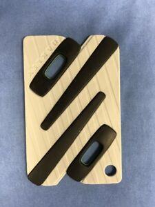 Oakley Authentic Paperclip Earsocks / Rubber Icon Black / Yellow Ear Sock OX3114