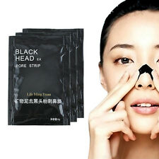 10PCS MINERAL PEEL OFF BLACKHEAD REMOVER NOSE FACE DEEP MUD MASK PORE CLEANER