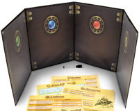 The Master's Tome Customizable DM Screen, Brown w/ 4 Art Inserts