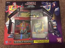 Transformers TCG Blaster vs Soundwave 2 Decks SDCC Comic-Con Trading Card Game