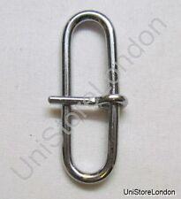 Buckle Sam Browne Brace Loop Buckle Chrome for 57mm Wide Belt R975