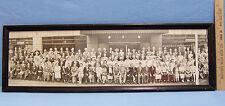 Vintage 1946 Historical Panaromic Photo Minnesota Townsend Club  People Picture
