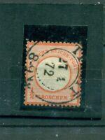 Deutsches Reich, Adler mit Brustschild Nr.3  gestempelt
