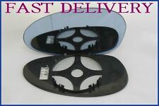 BMW Z4 M 2002-2008 WING MIRROR GLASS WIDE ANGLE ELECTRIC/ HEATED BLUE LEFT H/S
