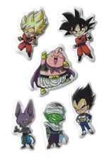 **Legit** Dragon Ball Super Buu Beerus Group Authentic Puffy Sticker Set #55635