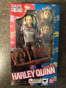 SH Figuarts Harley Quinn Suicide Squad! Rare!!!!