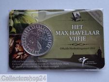 Netherlands Het Max Havelaar vijfje 5 euro 2010 Fdc in Coincard