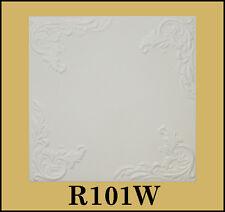 Styrofoam Ceiling Tiles Easy Installation - R101W Plain White