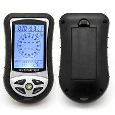Outdoor Digital Altimeter Barometer Compass Thermometer Hygrometer trekking