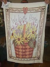L. Spivery Welcome Home Garden Flag