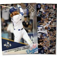 2017 Topps Now #767 3-RUN WALK-OFF HR SEALS DODGERS GAME 2 VICTORY JUSTIN TURNER