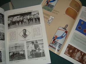 1930 Uruguay Soccer football world cup Original book catalog price gide 2d. ed