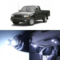 9pcs white led light smd interior package deal for 2003 - Toyota tacoma led interior lights ...