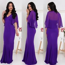 Gorgeous Purple Maxi Dress Size 8