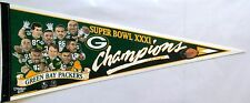 Green Bay Packers SB XXXI Champions Character Collectors Pennant