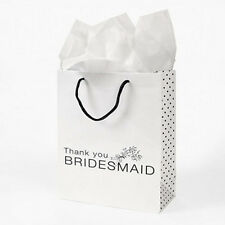 Bridesmaid Wedding Thank You Gift Bags / Favours
