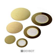 Kit 6 capteurs piézoélectrique. 12, 20 et 27mm. Piézo, DIY, Arduino Raspberry Pi