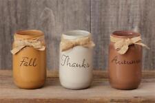 Fall mason jar set -Fall-Thanks-Autumn