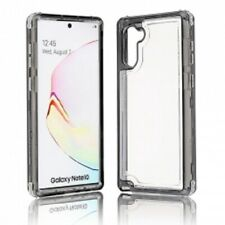 Samsung Galaxy Note 10 Three Piece Hybrid Clear Case with Color Bumper