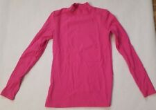 NEW Under Armour Hot Pink Red Women's Long Sleeve Cold Gear Fitted Shirt M