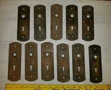1 No Large Original Reclaimed Brass Copper//Bronze Key Hole Escutcheon  KH45
