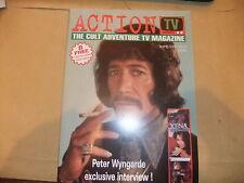 ACTION TV 2 AVENGERS PETER WYNGARDE INTERVIEW JASON KING DEPTMENT S