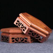 Redwood Schnitzen Basis Chinesisch Display Ständer Statue Räuchergefäß Podest