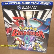 Pokemon Colosseum Official Strategy Guide Book Gamecube GC New