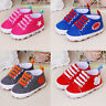 Newborn Infant Baby Cartoon Girls Boys Crib Soft Prewalker Casual Flats Shoes