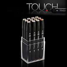 ShinHan Art TOUCH TWIN 12 Marker Set Twin tips - 12 SKIN TONES