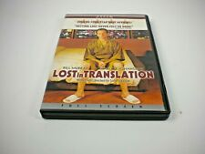 New listing Lost In Translation Dvd (Gently Preowned)