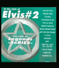 KARAOKE CDG  LEGENDS SERIES  VOL 26   ELVIS PRESLEY # 2   15 TOP TRACKS