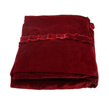 Piano Dust Proof Full Cover Piano Cover Cloth for Upright Piano Red
