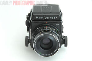 Mamiya RB67 Pro-S Camera Outfit w/ 90mm f3.5 Lens (21010). Graded: EXC+ [#9811]
