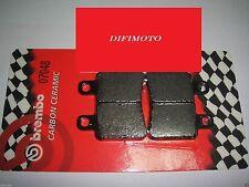 PASTIGLIE FRENO ANTERIORI BREMBO CARBON CERAMIC 07048 ITALJET MILLENIUM 150 2006