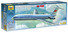 ZVEZDA 7013 IL-62M CIVIL AIRLINER SCALE MODEL KIT 1/144 NEW