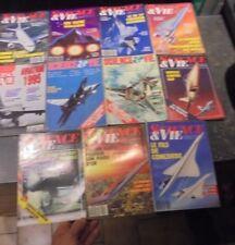Lot 12 Science & Vie Spécial Aviation Cosmos Espace Avion Aéronef dont Concorde