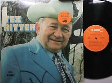 Country Lp Tex Ritter Greatest Hits On Buckboard