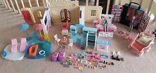 Monster High Barbie Bratz World Mansion Folding Dollhouse Carry Case Walkie Talk