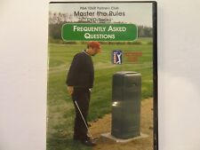Master the Rules Golf Dvd Frequently Asked Questions Pga Tour Mark Russell Ab70