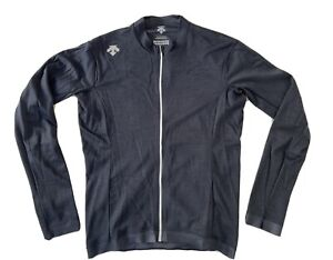 Descente Schematech Air Long Sleeve Cycling Jersey - Men's Medium
