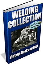 WELDING ~ Vintage Books DVD ~ Slag, Gas, Arc, Welding Torch, Electric Welder