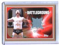 WWE Sheamus 2016 Topps RTWM Used Battleground BRONZE Mat Relic Card SN 41 of 50