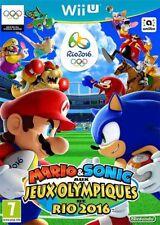 Mario Sonic aux jeux Olympiques de Rio 2016 Wii U Nintendo