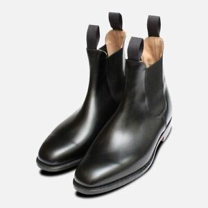 Trickers Black Lambourn Chelsea Boots