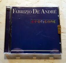 FABRIZIO DE ANDRE' (De Andrè)- ANTOLOGIA BLU - CD 2002 - Usato FV