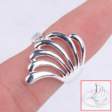 Hot Fashion Pure 925 Sterling Silver Angel Wing Ring Size8 Jewelry H412