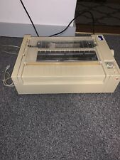 Apple ImageWriter Printer Model Number A9M0303, Untested, Powers On